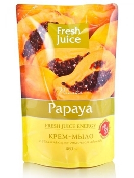 Крем-мыло Fresh Juice Papaya, 460 мл Fresh Juice