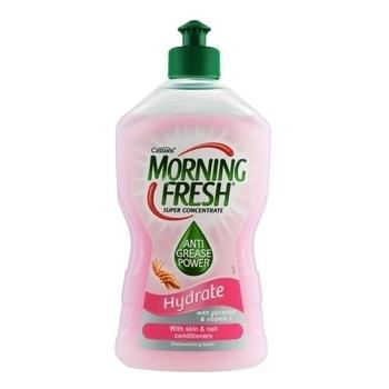 Средство для мытья посуды-суперконцентрат Morning Fresh Hydrate, 400 мл Morning Fresh
