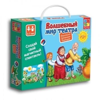 Волшебный мир театра Vladi Toys Репка (VT3207-04) (рус.) Vladi Toys