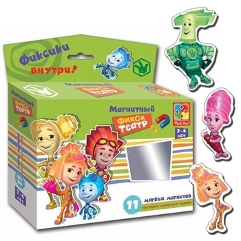 Магнитный театр Vladi Toys Фиксики (VT3206-20), (рус.) Vladi Toys