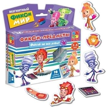 Магнитный Фикси-мир Vladi Toys Фикси-предметы (VT3102-02) Vladi Toys