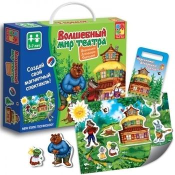 Волшебный мир театра Vladi Toys Теремок (VT3207-03) (рус.) Vladi Toys