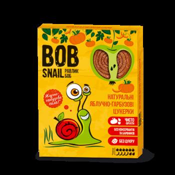 Натуральные яблочно-тыквенные конфеты Bob Snail Равлик Боб, 120 г Bob Snail