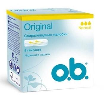 Купить:  Тампоны o.b. Original Normal, 8 штук o.b.