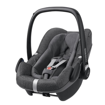 Автокресло Maxi-Cosi Pebble Plus Sparkling Grey, темно-серый - Pampik