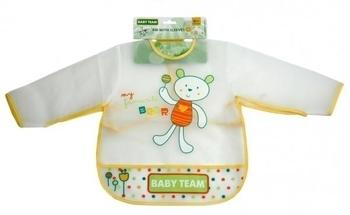 Нагрудник c рукавами Baby Team Baby Team