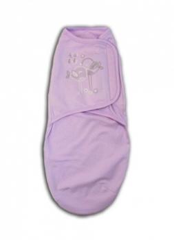 Купить:  Пеленка-кокон Tamik, интерлок, р.20, фиолетовый (1-946-20) Tamik