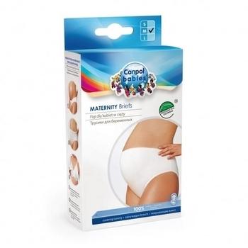 Трусики для беременных Canpol Babies, высокие, белый, M Canpol babies