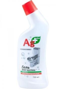 ag+ Гель для чистки туалета Ag+ Антибактериальный, 750 мл