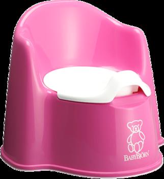 Кресло-горшок BabyBjorn Potty Chair, розовый BabyBjorn