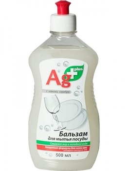 ag+ Бальзам для мытья посуды Ag+, 500 мл