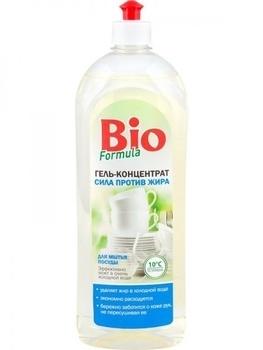 bio formula Гель-концентрат для посуды Bio Formula Сила против жира, 750 мл