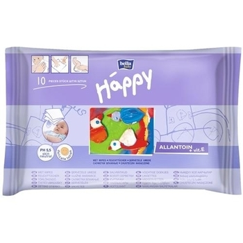 bella Влажные салфетки Bella Baby Happy, 10 шт. BB-062-W010-004