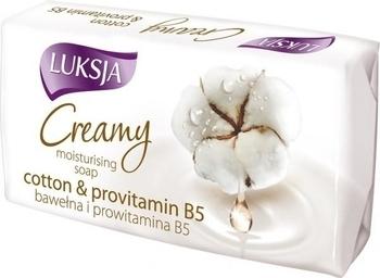 Крем-мыло Luksja Cotton Milk Provitamin B5, 90 г Luksja