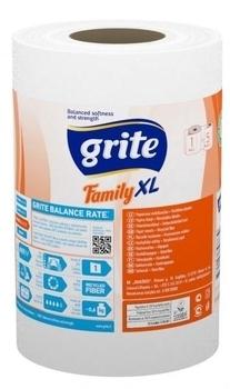 Купить:  Бумажные полотенца Grite Family XL, 1 рулон Grite