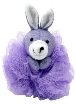 Мочалка-зверюшка Baby Team, фиолетовый Baby Team