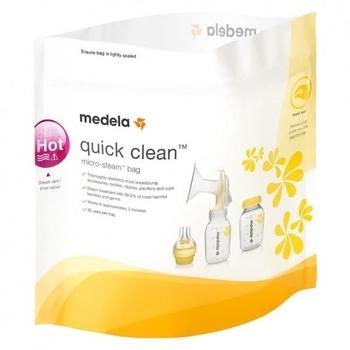 Пакеты для паровой стерилизации бутылочек в микроволновой печи Medela, 5 шт. Medela