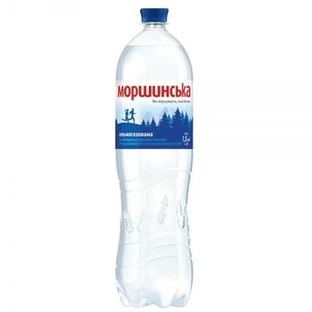Минеральная вода Моршинская, сильногазированная, 1,5 л Моршинская