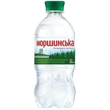 Минеральная вода Моршинская, слабогазированная, 0.33 л Моршинская