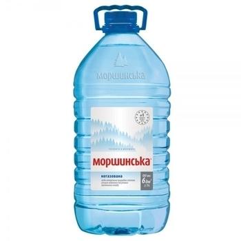 Минеральная вода Моршинская, негазированная, 6 л Моршинская