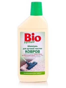 bio formula Шампунь Bio Formula для ручной чистки ковров, 500 мл