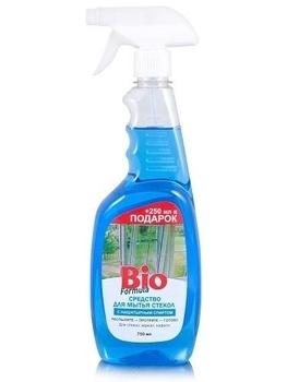 bio formula Средство для мытья стекол Bio Formula с нашатырным спиртом, 0,75 л