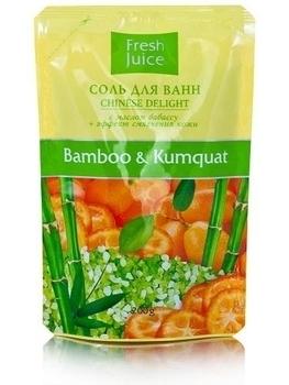 Соль для ванн Fresh Juice Вamboo & Kumquat, 200 мл Fresh Juice