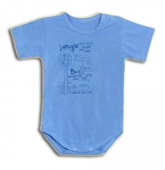 Боди для мальчика Tamik, кулир, р.22, голубой (1-А135н-22) Tamik