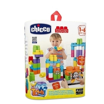 Конструктор Chicco Творчество, 70 блоков Chicco