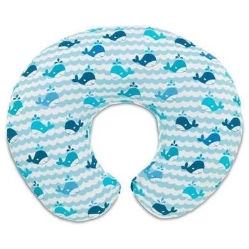 chicco Подушка для кормления Chicco Boppy Pillow, голубой 79902.35
