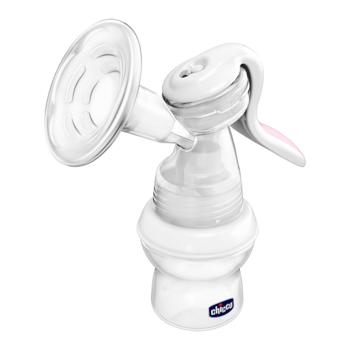 Механический молокоотсос Chicco Natural Feeling с адаптером Chicco