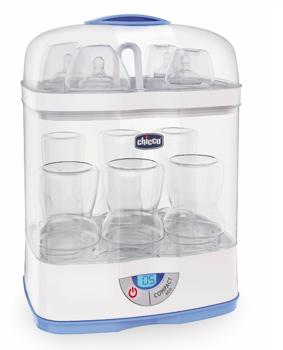 Стерилизатор для бутылочек с детским питанием Chicco 3 в 1 Chicco