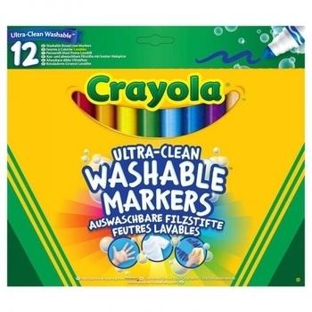 Набор фломастеров широких Crayola, 12 шт. Crayola