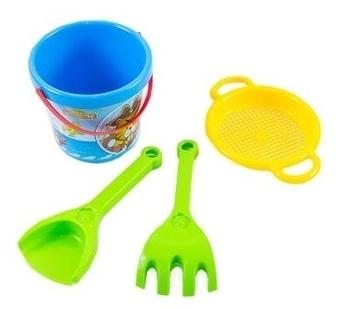 Купить:  Набор для песка Tigres Тигренок, 4 эл., синий с зеленым (39030) Tigres