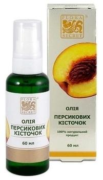 Растительное масло Flora Secret Персиковых косточек, 60 мл Flora Secret