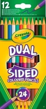 Набор карандашей двухсторонних Crayola, 12 шт. Crayola