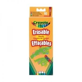 Набор карандашей с ластиками Crayola, 10 шт. Crayola