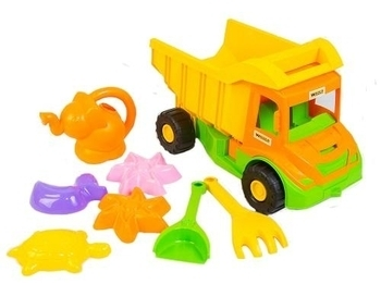 Грузовик с набором для песка Tigres Multi truck (с лейкой), 8 эл. Tigres