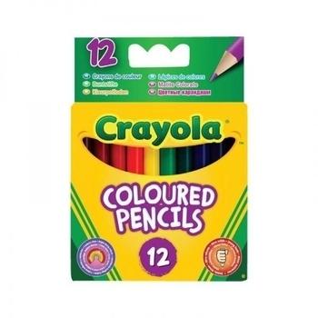 Набор карандашей коротких Crayola, 12 шт. Crayola
