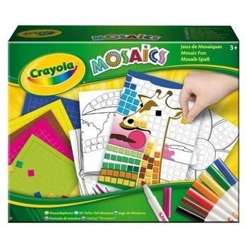 Набор для творчества Crayola Забавная мозаика (04-1008) Crayola
