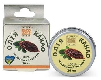 Растительное масло Flora Secret Какао, 30 мл Flora Secret