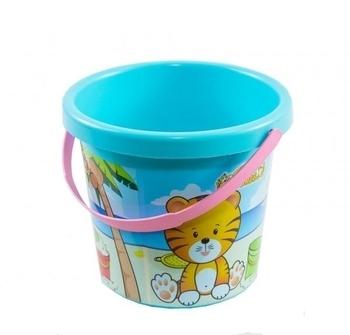 Купить:  Ведро для песка Tigres Тигренок, голубой (39017) Tigres