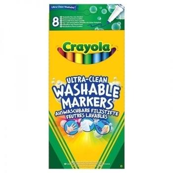 Набор фломастеров тонких Crayola, 8 шт. Crayola