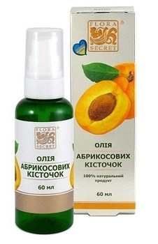 Растительное масло Flora Secret Абрикосовых косточек, 60 мл Flora Secret