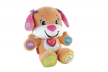 Развивающая игрушка Fisher-Price Сестричка умного щенка с технологией Smart Stages (русский) Fisher-Price
