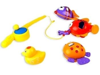 Купить Игрушки для ванной, Набор для купания BeBeLino Моя первая рыбалка