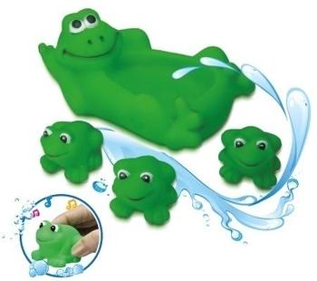 Набор для купания BeBeLino Семья лягушек BeBeLino