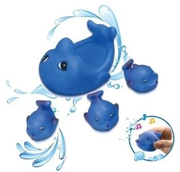 Набор для купания BeBeLino Семья дельфинов BeBeLino