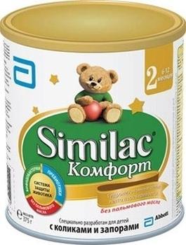 Сухая молочная смесь Similac Комфорт 2, 375 г Similac