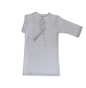 betis Крестильная рубашка для мальчика BetiS Кристиан-2, интерлок, р.56, белый (27070904)